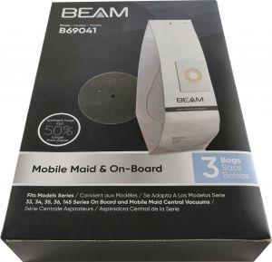 Pölypussi Beam BM 145 3 kpl