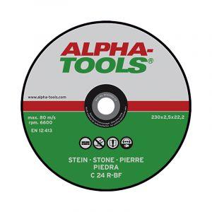 Katkaisulaikka Alpha-Tools Kivi C 24 R-BF 230 x 2,5