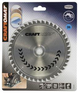 Pyörösahanterä Craftomat Alumiinille 160 x 20/16 mm