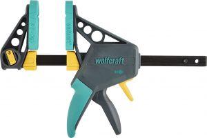 Yhden käden ruuvipuristin Wolfcraft EHZ PRO 100-150 mm