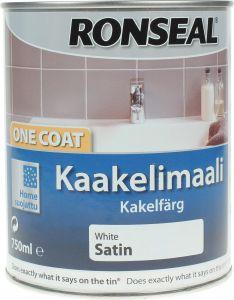 Kaakelimaali Ronseal Valkoinen 750 ml