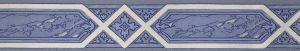 Boordi Sandudd Isoäidin Aikaan Sininen 4839-4