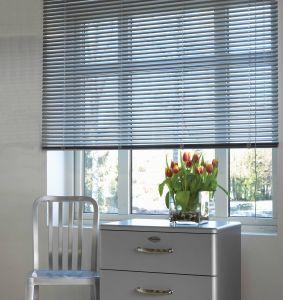 Sälekaihdin SunFun Alumiini 110 x 175 cm Valkoinen