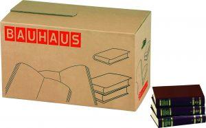 Muuttolaatikko kirjoille BAUHAUS 58 x 33 x 33,5 cm