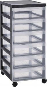 Muovilaatikosto 6 lokeroa 61,5 x 40 x 29 cm