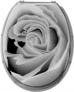 Wc-istuinkansi Harmaa Ruusu