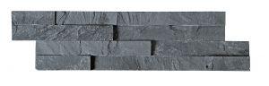 Verhoilukivi Slim 10 x 40 cm Musta