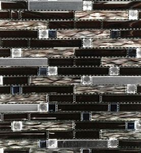 Lasimosaiikki Crystal Mix-musta-RST