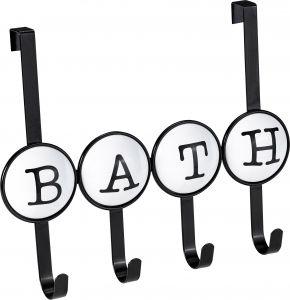 Pyyhekoukku Venus Bath 4 koukkua