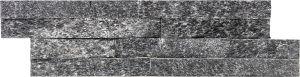 Verhoilukivi Quarzit 10 x 40 cm musta