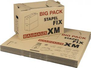 Muuttolaatikkosetti BAUHAUS XM 58 x 33,5 x 38,5 cm 10 kpl