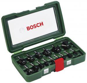 Jyrsinteräsarja Bosch 15-osainen