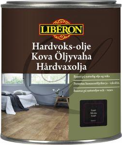 Kova Öljyvaha Liberon Musta 750 ml