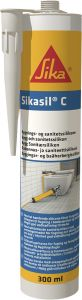 Silikoni Sikasil -C 300 ml Valkoinen
