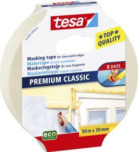 Maalarinteippi Tesa Classic 50 m x 30 mm