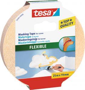Maalarinteippi Tesa Flexible 25 m x 19 mm