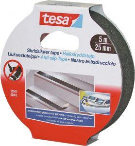 Liukuestoteippi Tesa Musta 5 m x 25 mm