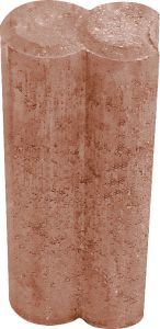 Reunakivi Duopal 6 x 25 x 10 cm Ruskea
