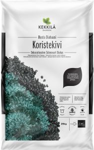 Koristekivi Kekkilä Musta 25 kg