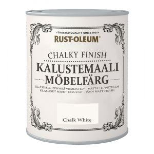 Kalustemaali Rust-Oleum Chalky Finish Chalk White 750 ml