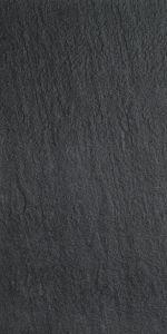 Lattialaatta Futura Rustic Musta 30 x 60 cm