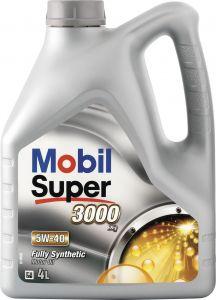 Moottoriöljy Mobil Super 3000 X1 5W-40 Täyssynteettinen 4 l
