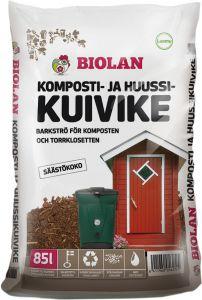 Komposti- ja huussikuivike Biolan 85 l