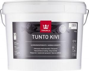 Luonnonkivipinnoite Tikkurila Tunto Kivi 9 l / 14 kg Valkoinen
