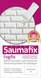 Kaakelisauma-aine Saumafix Valkoinen 100 ml