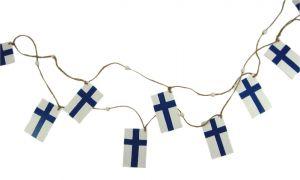 Suomen lippu köynnös 2 m