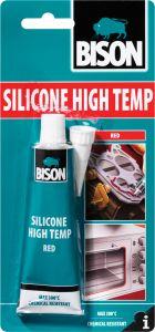 Silikonitiiviste Bison Silicone High Temp 60 ml