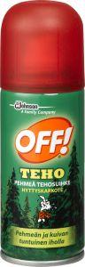 Hyttyskarkote OFF! pehmeä tehosuihke 100 ml