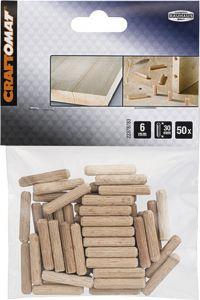 Puutappi Craftomat 6 x 30 mm 50 kpl