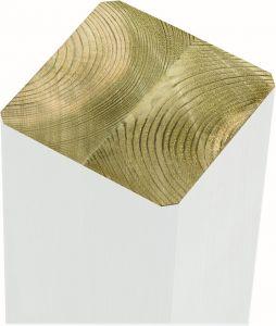 Tolppa Plus 6,8 x 6,8 x 188 cm valkoinen