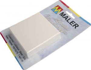Koristepala Maler MDF Valkoinen 19 x 75 x 75 mm