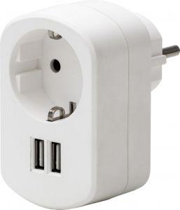 USB-adapteri Airam 2 x USB 3,1 A