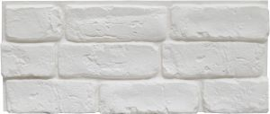 Verhoilukivi Stone Design Harlem Valkoinen