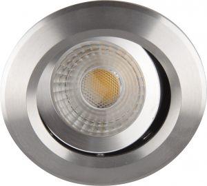 Uppospotti Ecolite Luna LED 1-os Alumiini