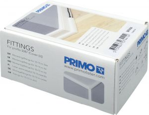 Kiinnitystarvikkeet Primo 5087 valkoinen