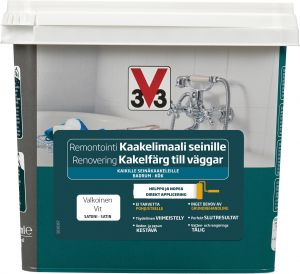 Kaakelimaali V33 Seinä Valkoinen 750 ml