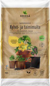 Kylvö- ja taimimulta Kekkilä 10 l