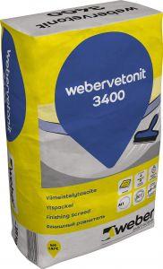 Viimeistelytasoite Weber.Vetonit 3400 15 kg