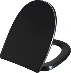 WC-istuinkansi Saniscan Fountain Soft Close Musta