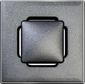 Lattiakaivonkansi Vieser RST Design 197 x 197 mm, Hopea