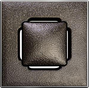 Lattiakaivonkansi Vieser RST Design 197 x 197 mm, Pronssi