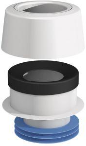WC-mansetti Kauluksella Prevex Epäkesko 7 mm