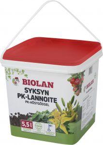 Syksyn PK-Lannoite Biolan 5,5 l