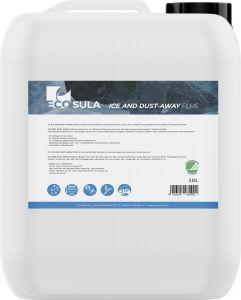 Liukkaudentorjunta-aine Ecosula ice & dust -away plus 10 l