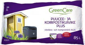 Puucee- ja kompostikuivike Greencare Plus 85 l