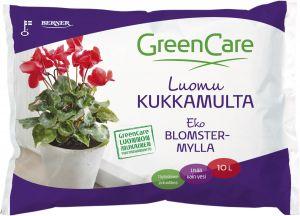 Kukkamulta Greencare luomu 10 l